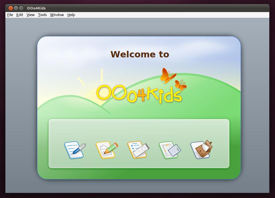 OOo4kids: Aplikasi Office untuk anak-anak