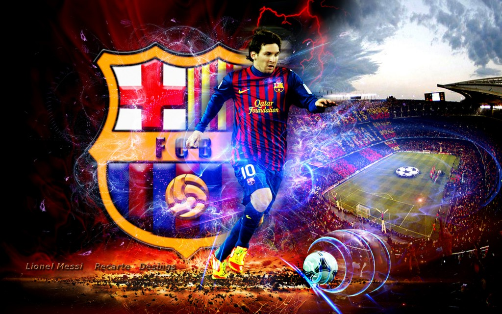 All sports celebrities lionel messi lattest hd wallpapers for Best home wallpaper 2013