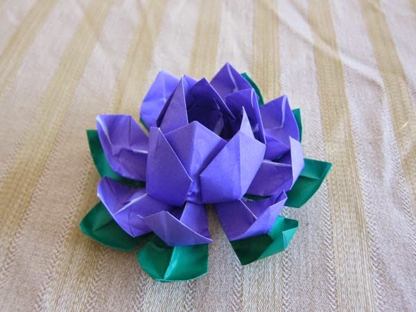 origami flower kids