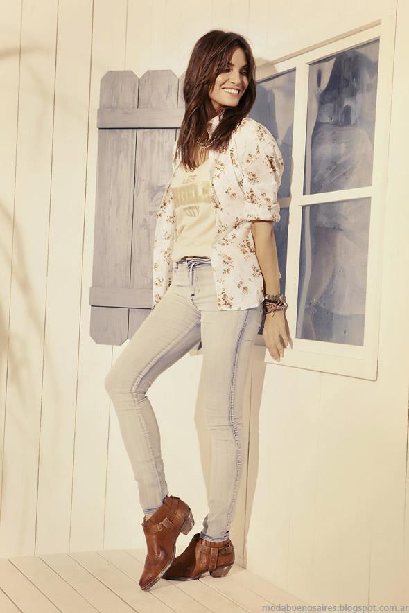 Kevingston Mujer moda primavera verano 2015.