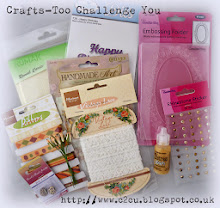 Crafts - Too Challenge you giveaway!