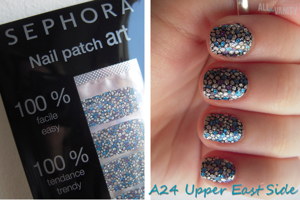 """My Easter Mani: Sephora Nail Patch Art in """"A24 Upper East ..."""