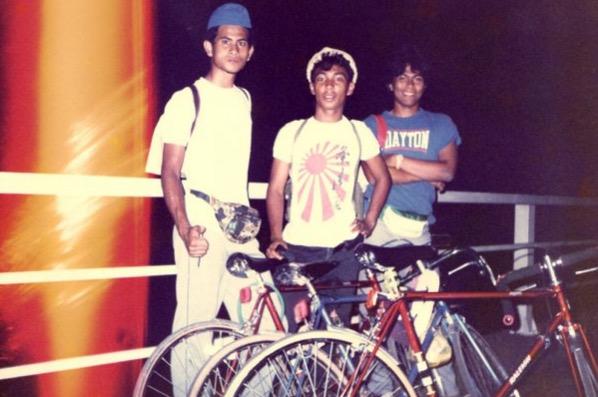 Orang Melayu Pertama kayuh basikal merentasi Jalan Raya Timur Barat