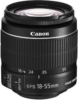 lensa kit 18-55 mm