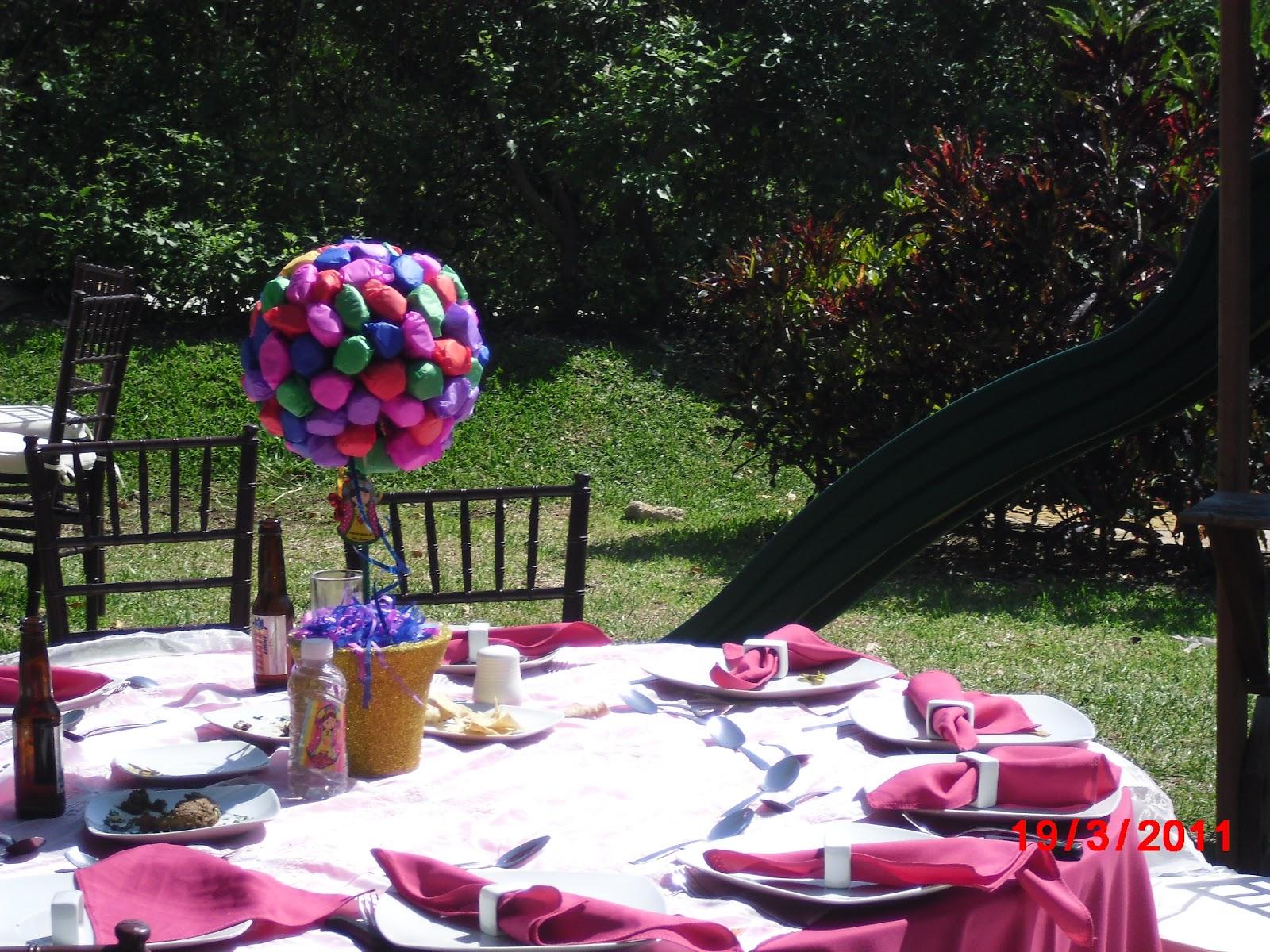 Olga rodriguez banquetes bautizos - Organizar bautizo original ...