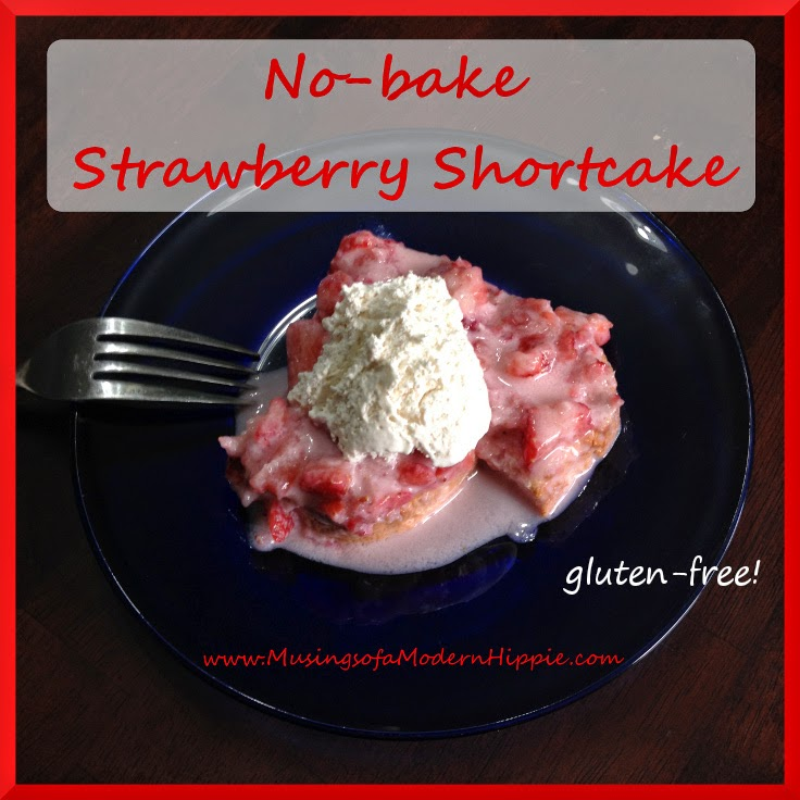 No-bake Strawberry Shortcake | Musings of a Modern Hippie