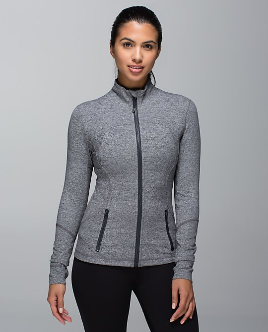 lululemon deep coal forme jacket
