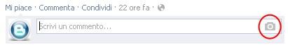 Aggiunta su Facebook l'opzione di allegare delle foto nei commenti