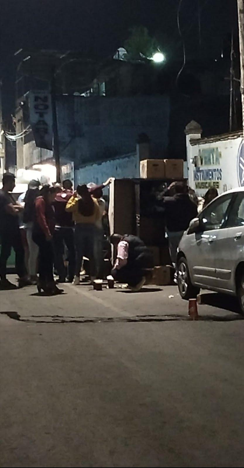 Alcohol, corrupción e inmundicia, característica de la Feria de Tláhuac