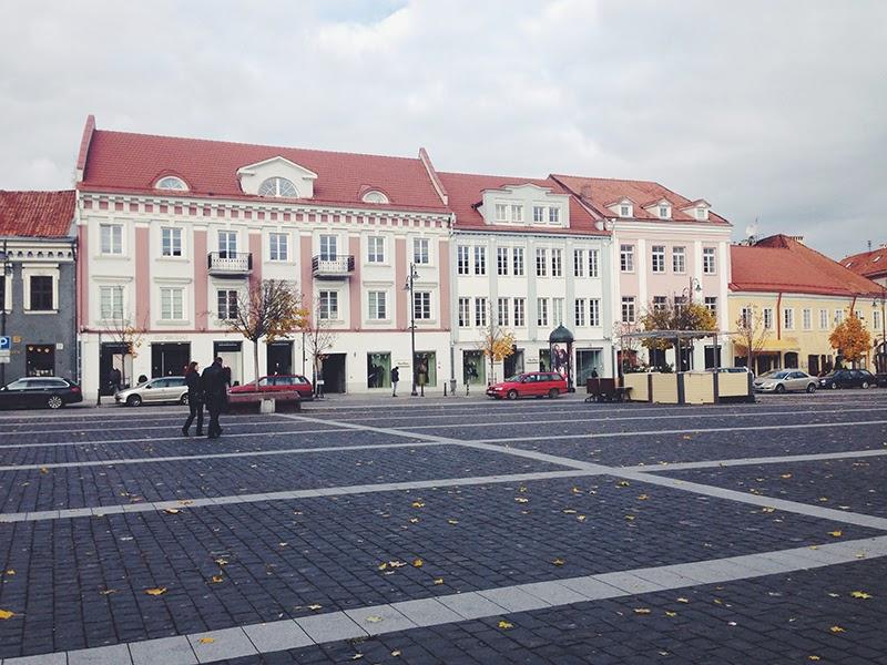 Площадь города Вильнюс