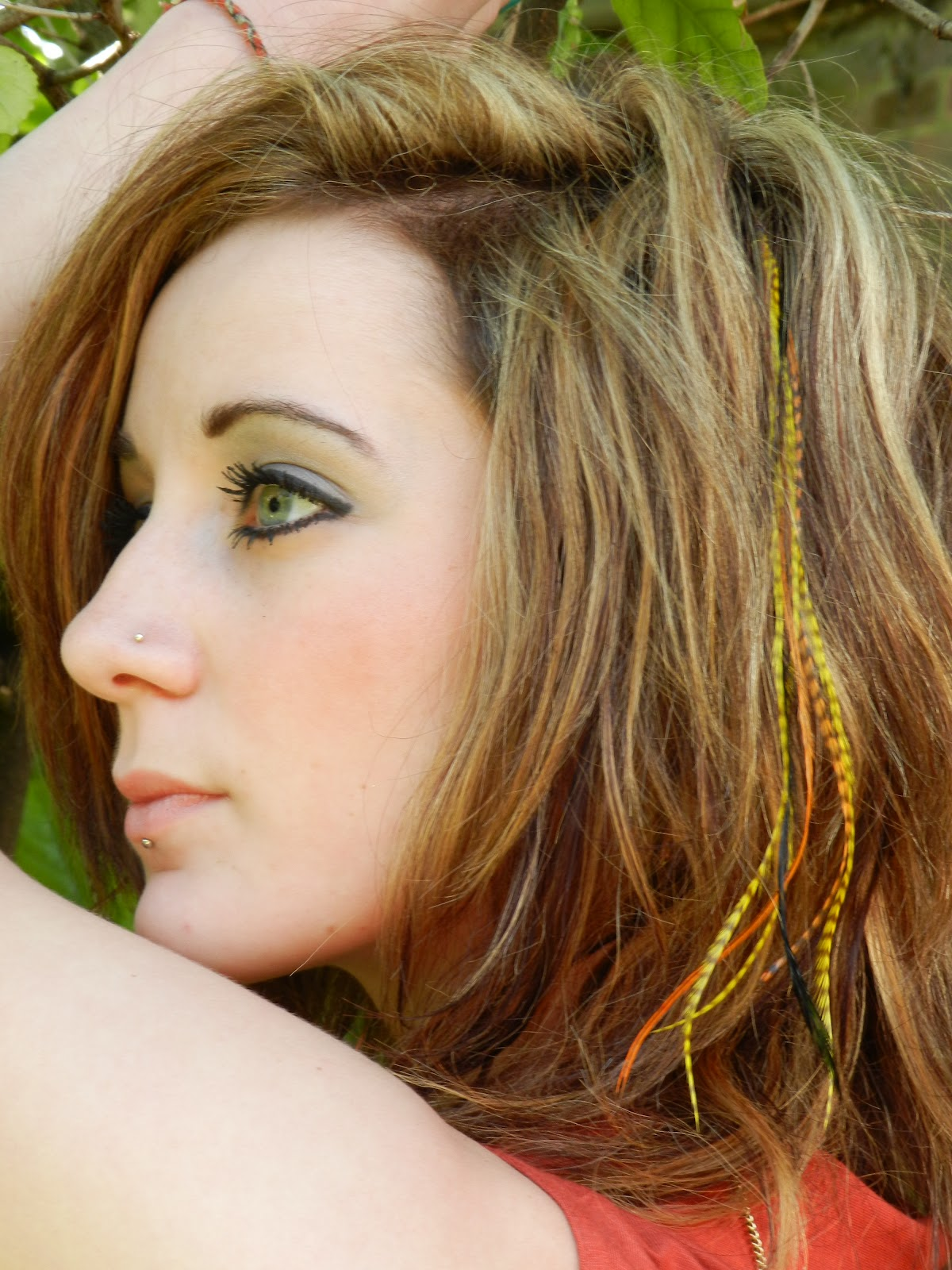 Feather Hair Extensions Uk Feather Your Heads July 2012