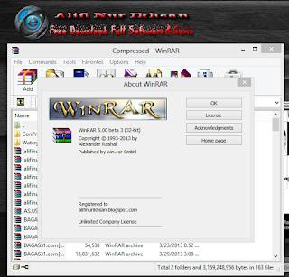 Winrar 5.00 Beta 3 Full Patch Keygen
