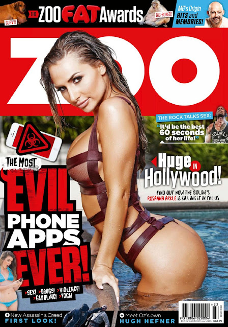 Rosanna Arkle - Zoo Weekly Australia, June 2015