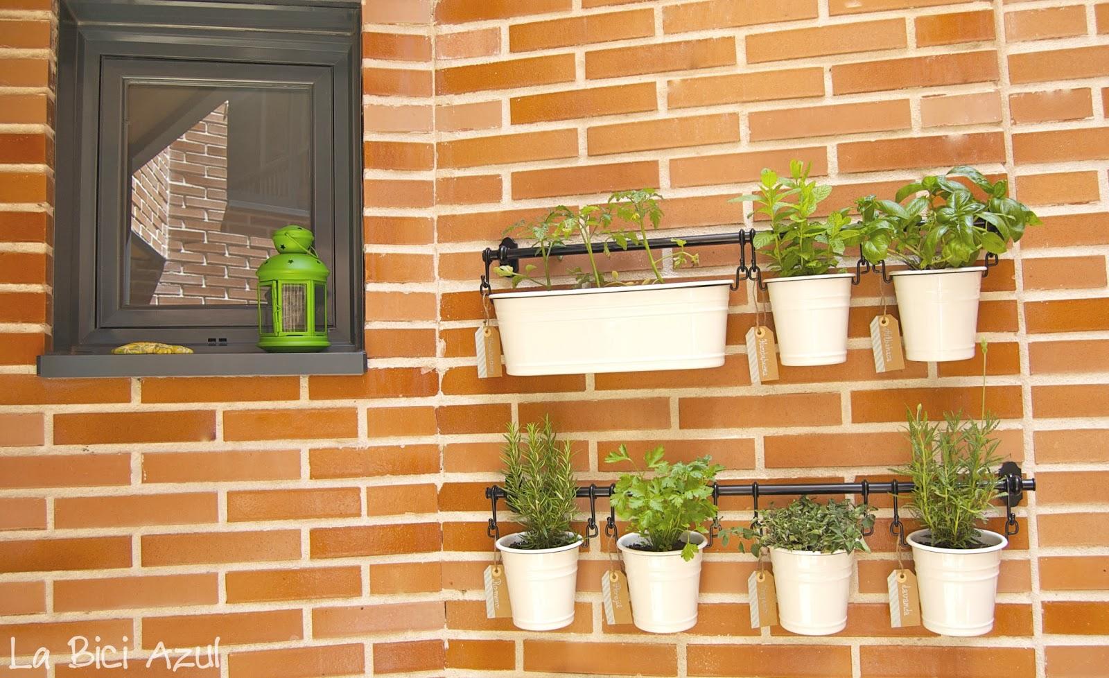 Diy jard n arom tico en casa la bici azul blog de for Casa y jardin bazaar 2013