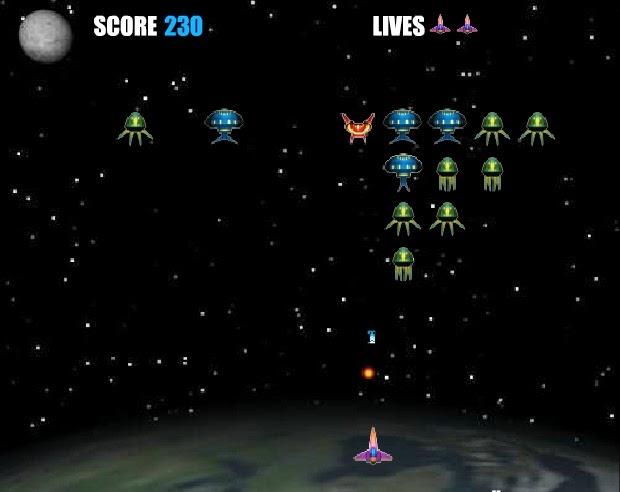 uzaylı yaratıklara ateş et düşür oyunu