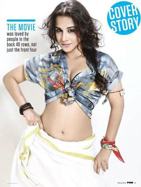 Hot Vidya Balan goes topless in her new photoshoot