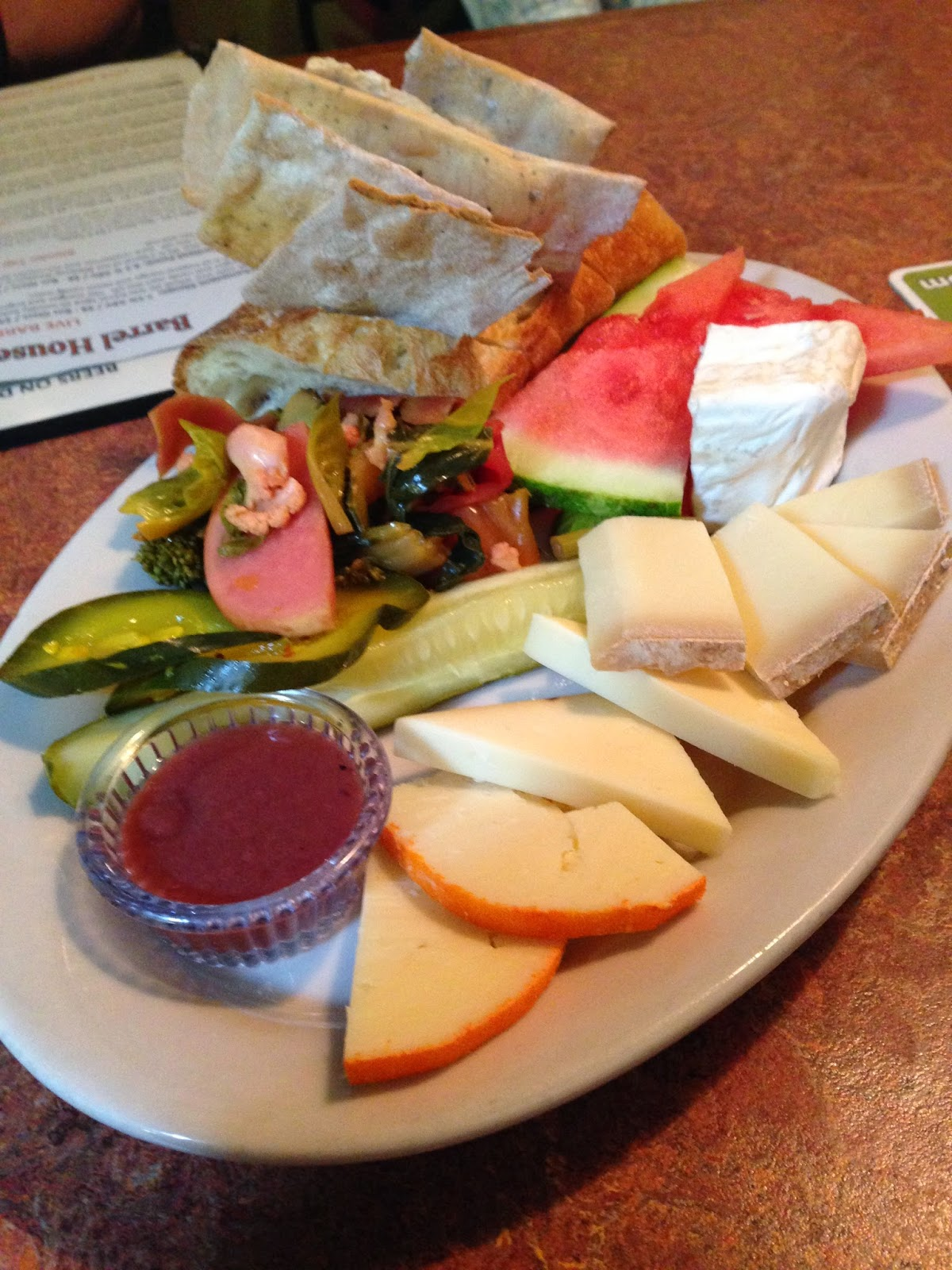 Artisanal Cheese Plate from Cascade Brewing | The Economical Eater
