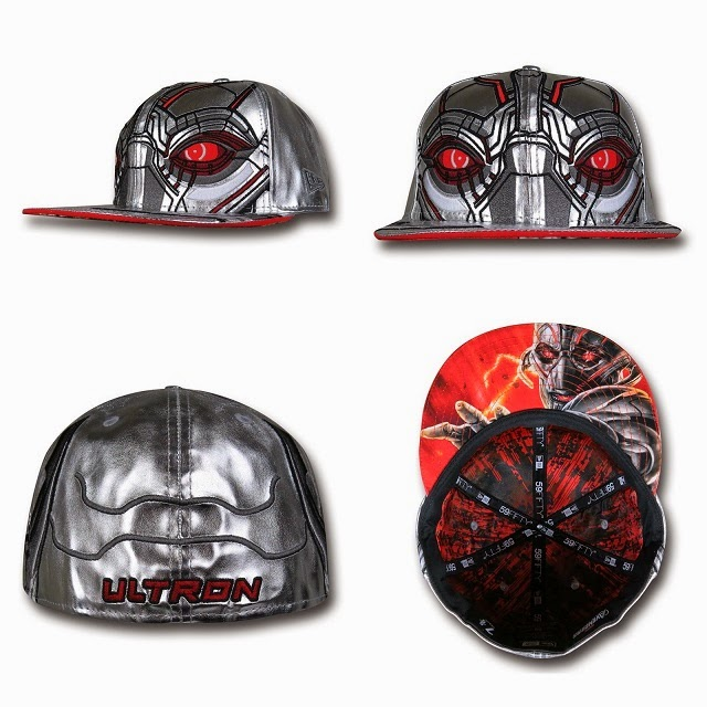 Marvel's Avengers Age of Ultron Armor 59Fifty Cap Collection by New Era - Ultron