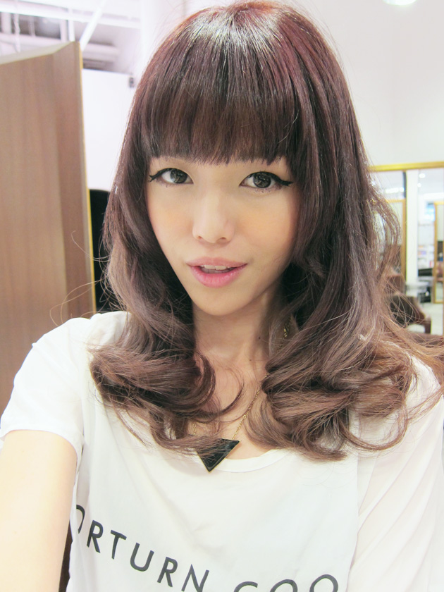 Qiuqiu Qweekly Back To Dark Hair O
