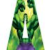 Alfabeto Gratis de Hulk.