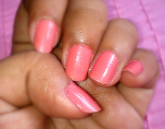 Revlon Nail Enamel Really Rosy 110: Review & NOTD