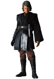 "RAH Medicom Sideshow Star Wars Anakin Skywalker No.431 Action Figure 12"""