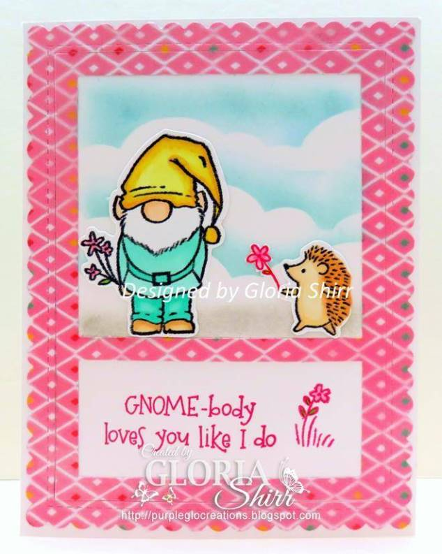 Featured Card in Heart 2 Heart Challenge Blog