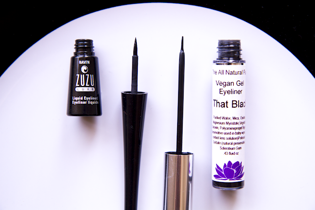 Photo of Zuzu Luxe Liquid Eyeliner and The All Natural Face Vegan Gel Eyeliner