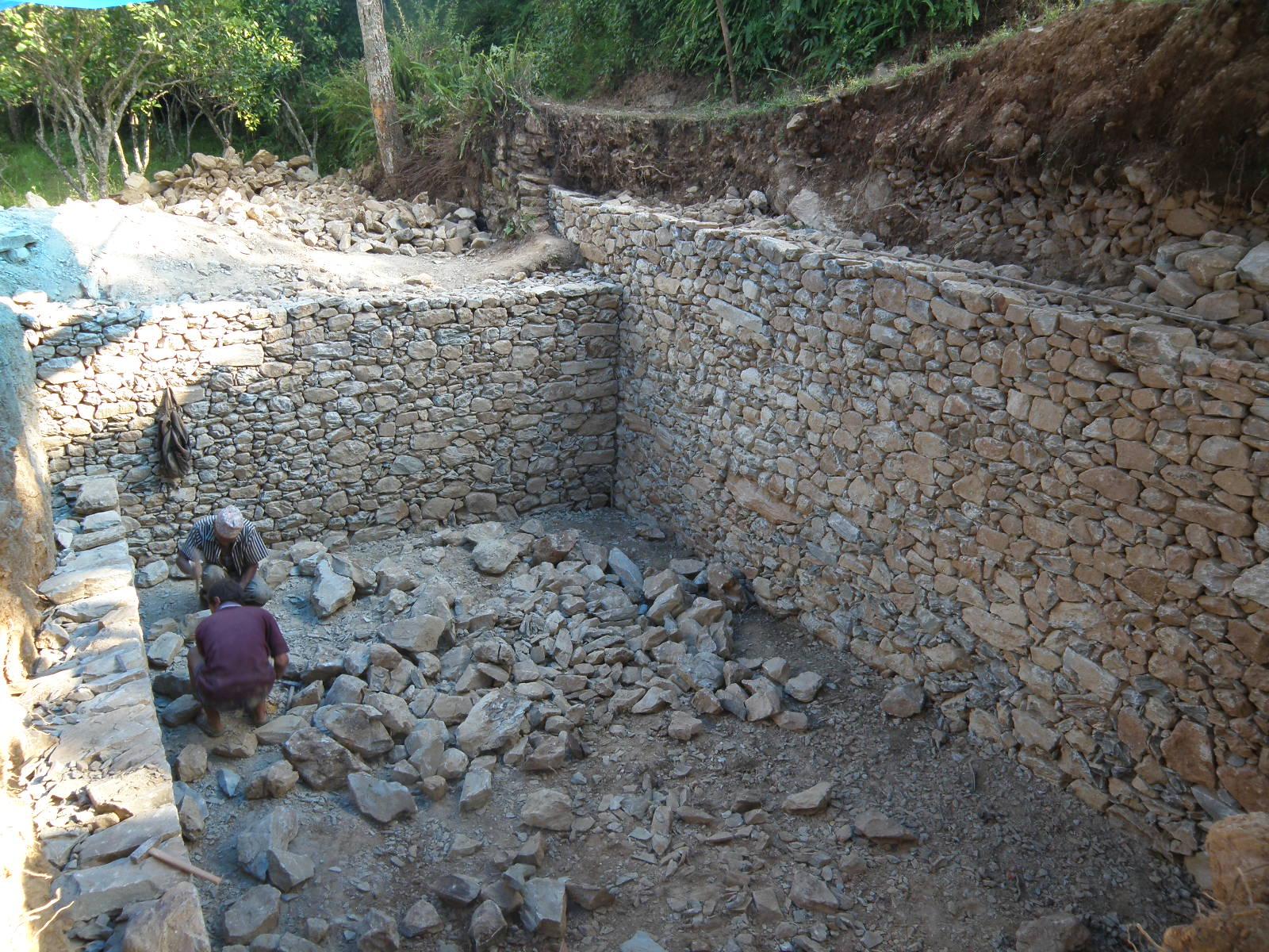 Dallavita in nepal dopo il terremoto for Piccoli piani di casa in cemento