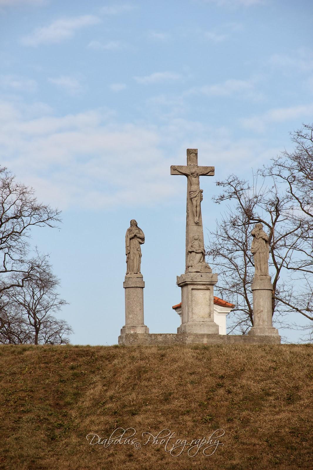 Kalvária - pohled od rotundy Sv. Juraja