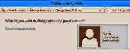 Cara Mengaktifkan Akun Guest di Windows 8 & 8.1.6