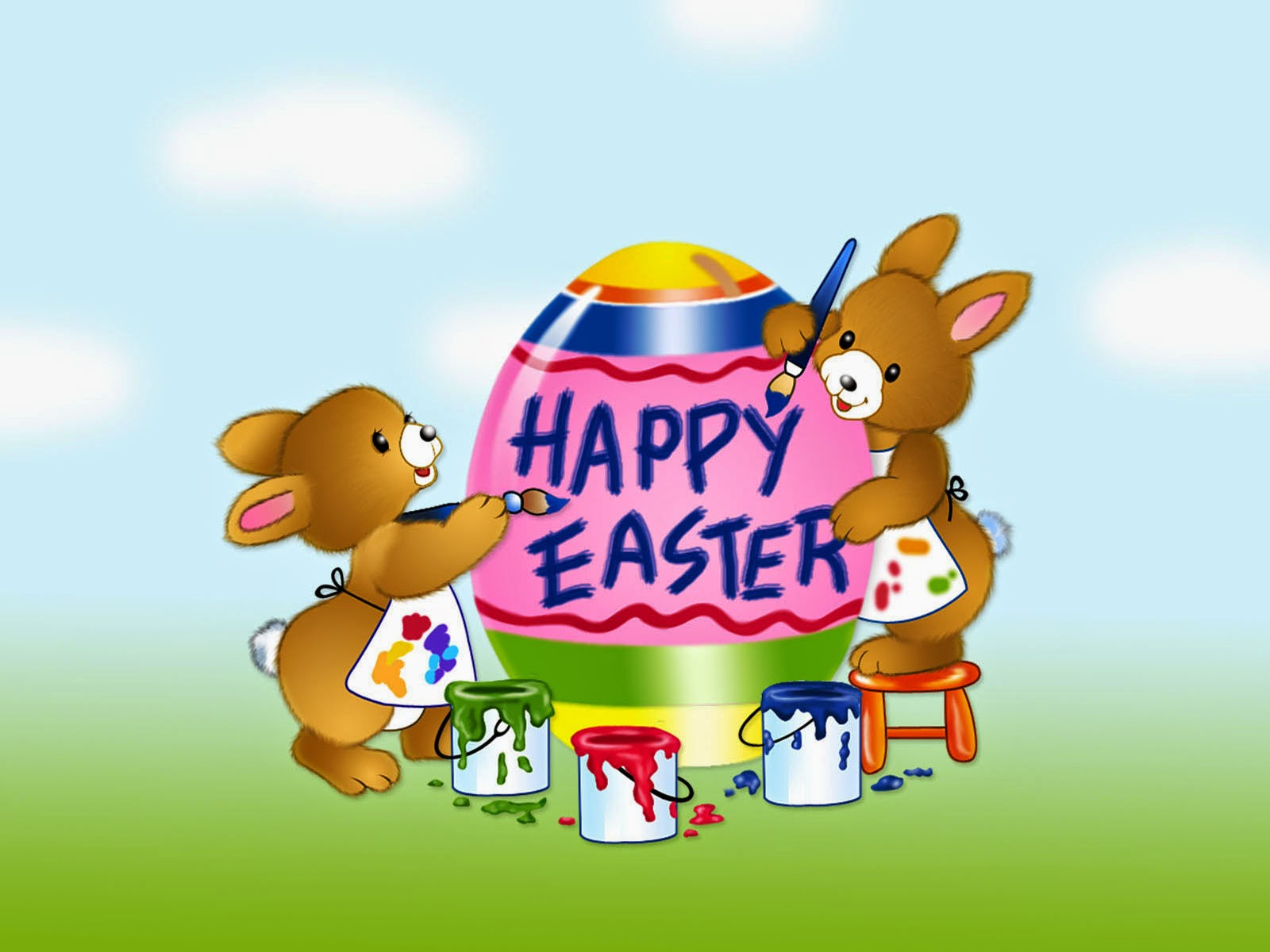 cute easter 2014 wallpaper