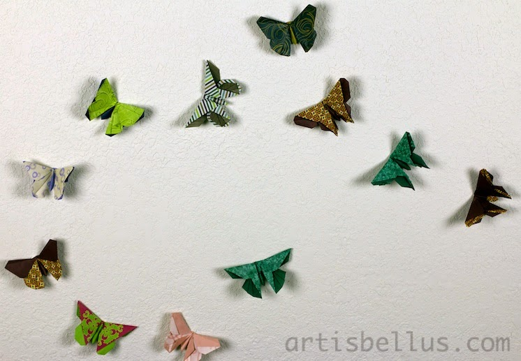 Origami Decorations: Butterflies