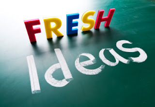 Tips for coming up with fresh ideas for your business or blog