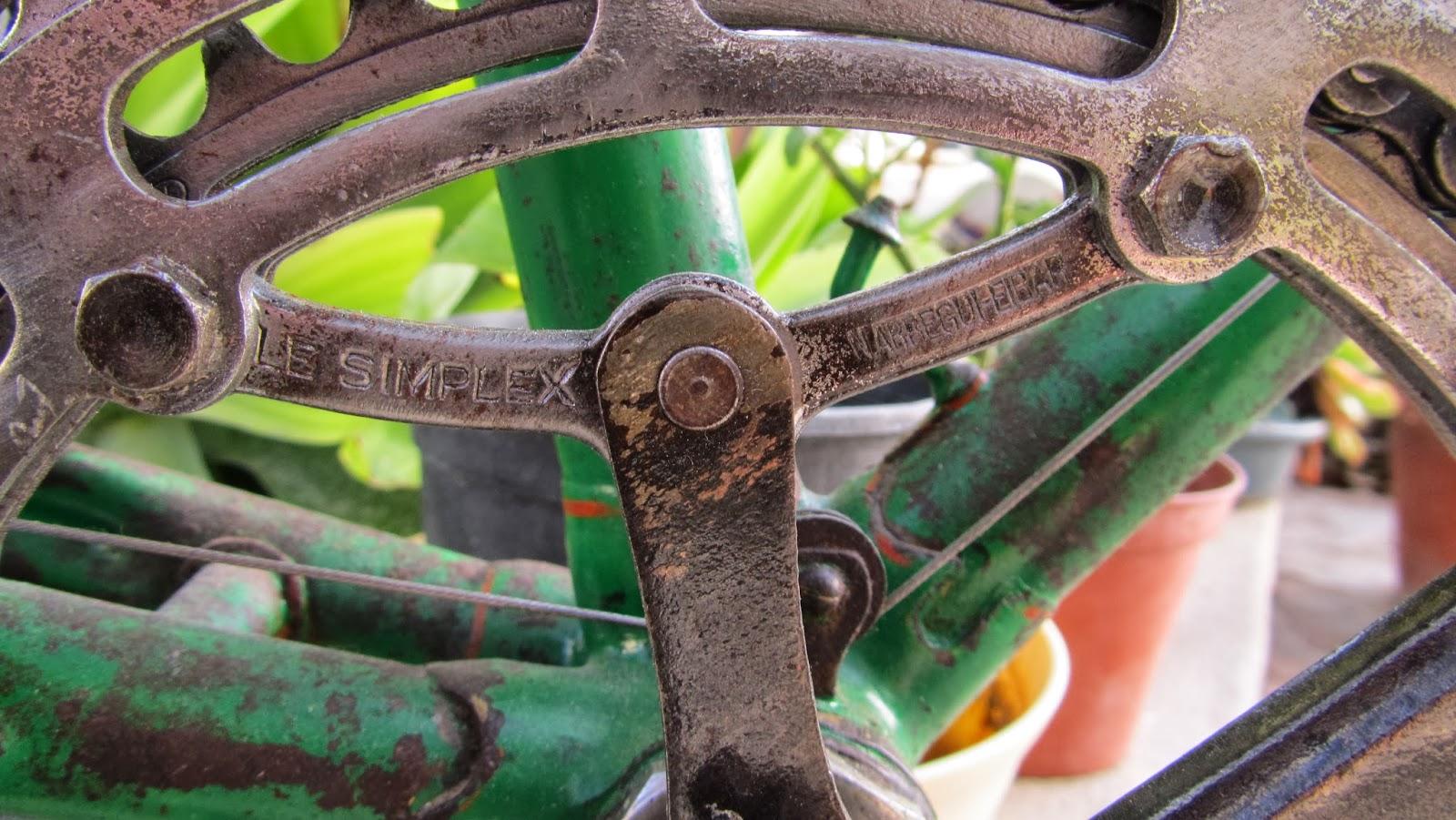 Plato simplex - Bicicleta Clásica Emporium - Ciclos Cataluña