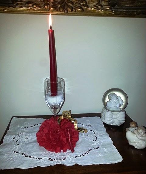candeliere natalizio fai da te