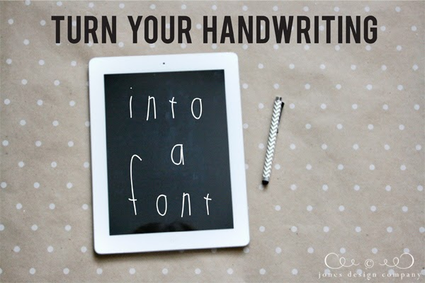 Your Handwriting Font
