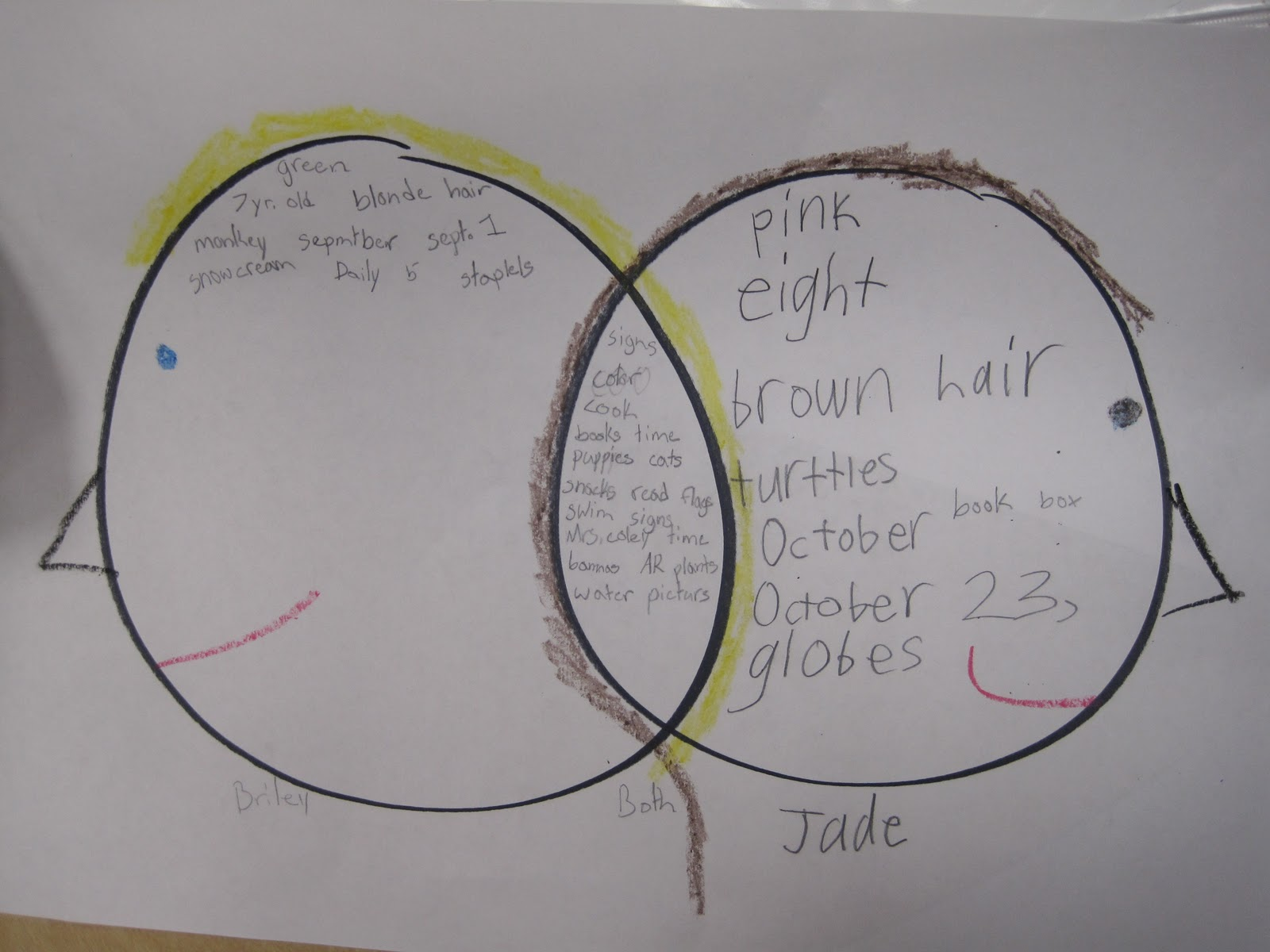 compare and contrast babies and elderly Compare and contrast collect different types of potatoes—red, idaho, sweet, yam, and so forth—and have kids compare and contrast the vegetables older students can organize their data with a venn diagram.