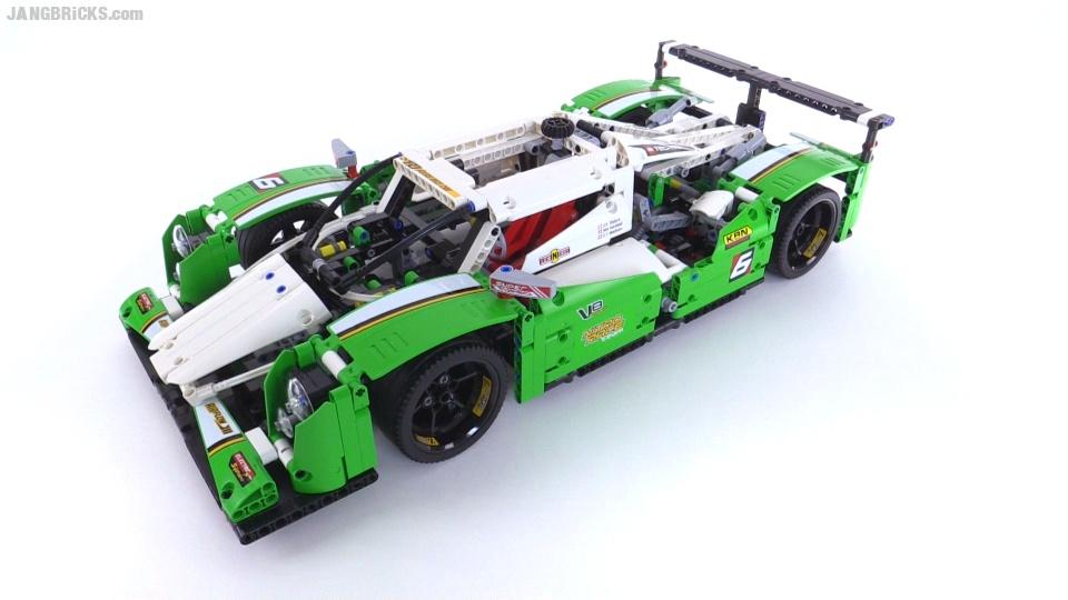LEGO Technic 24 Hours Race Car review! set 42039