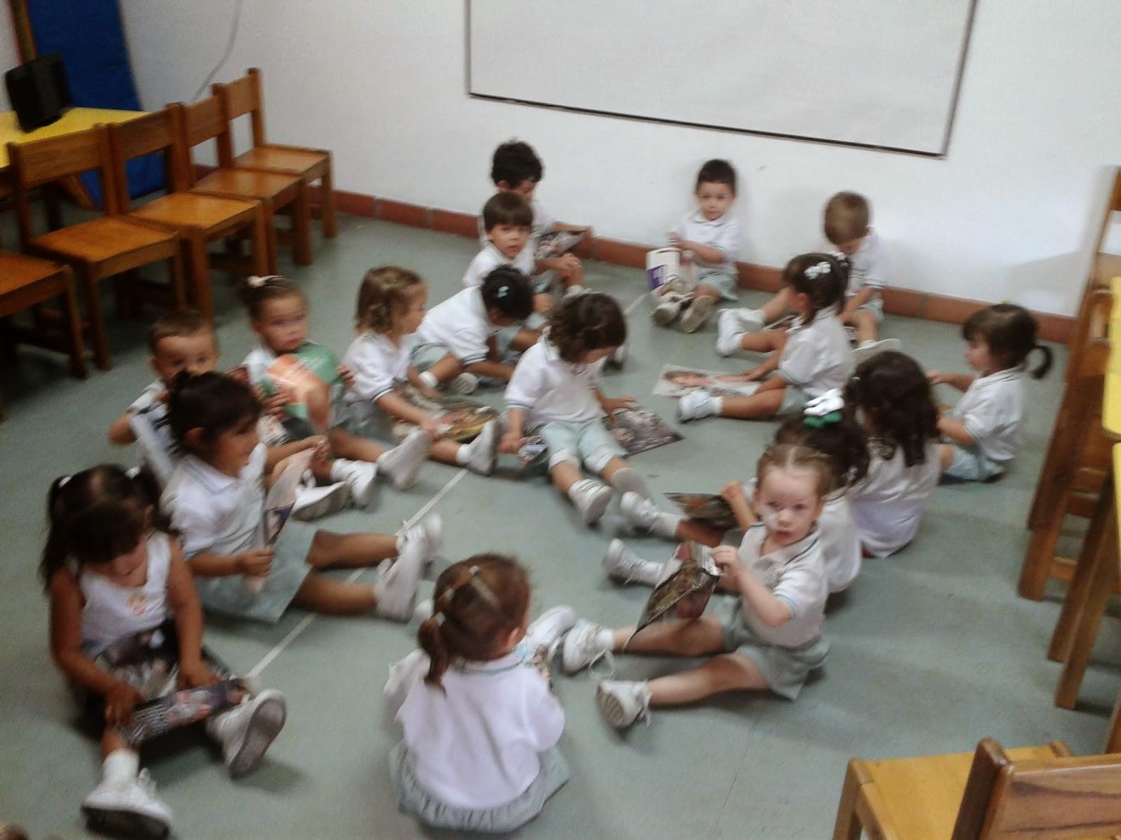 Aqu entre ni os jard n infantil actividades p rvulos febrero for Mobiliario para parvulos