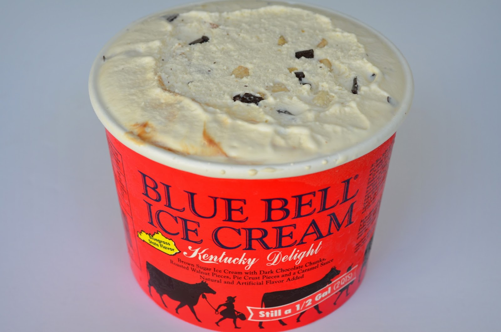 food and ice cream recipes REVIEW Blue Bell Kentucky Delight