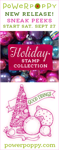 Power Poppy Holiday Stamp Collection