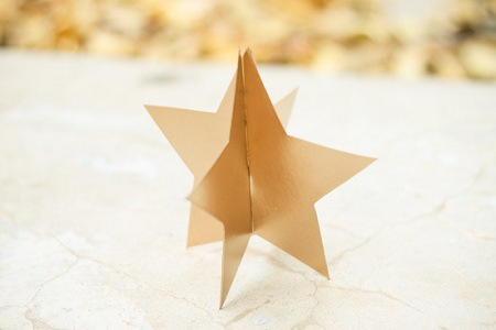 Manos a la obra como hacer una estrella de navidad en 3d - Como hacer estrellas de navidad ...