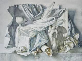 Bodegon, acuarela Elena Bazanova