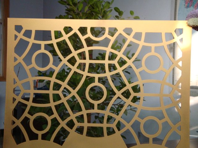 decorative punched metal panels