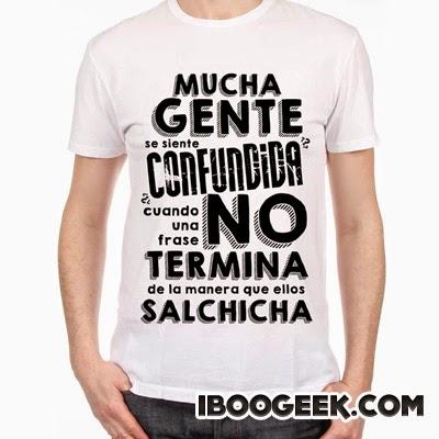 Camiseta confusión - iboogeek.com