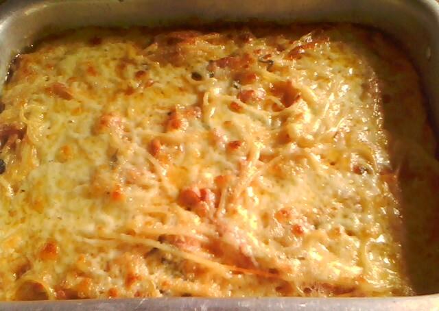 Mi cocina torta de pasta - Como hacer espaguetis al pesto ...