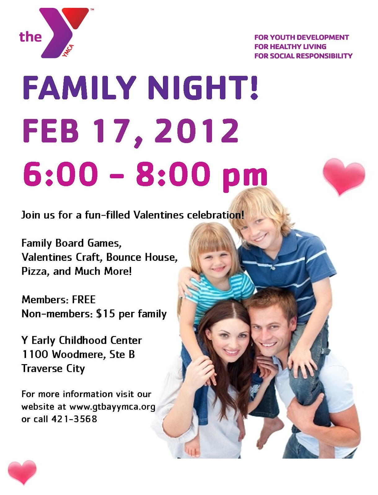 Family Fun Night At Y Early Childhood Center