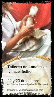 Nuevos Talleres de Lana en Octubre