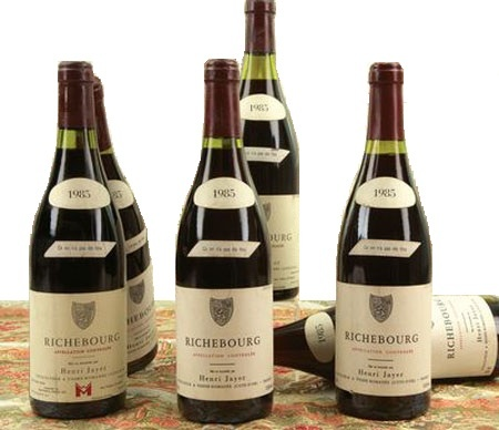 BOTELLAS DE RICHEBOURG GRAND CRU 1985